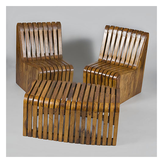 Olivewood Modular Seating And Centre Tables
